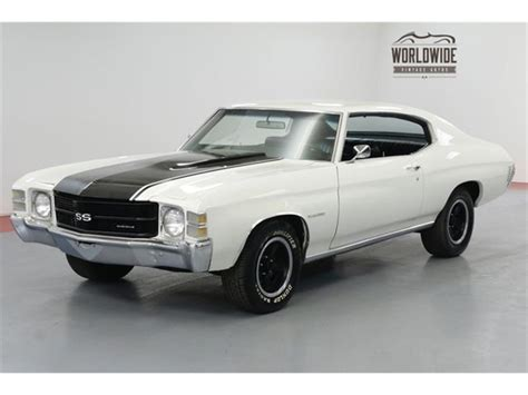 1971 Chevrolet Chevelle For Sale On Classiccars.com