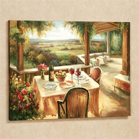 wall decor canvas wine and dine canvas wall