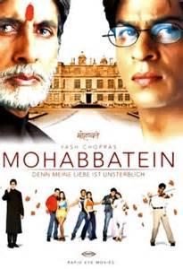 mohabbatein dvd oder blu ray leihen videobusterde
