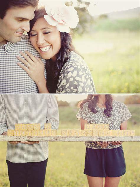 cute engagement