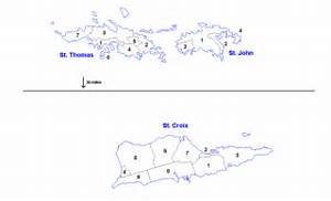 Districts and sub-districts of the U.S. Virgin Islands U.S. Virgin Islands