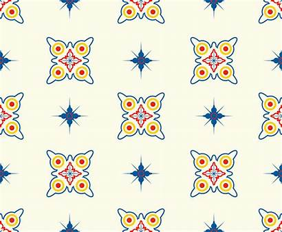 Geometric Star Colorful Pattern Shapes Seamless Vector