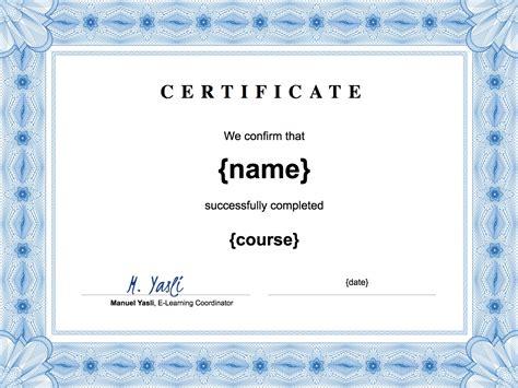 create  certificates  powerpoint