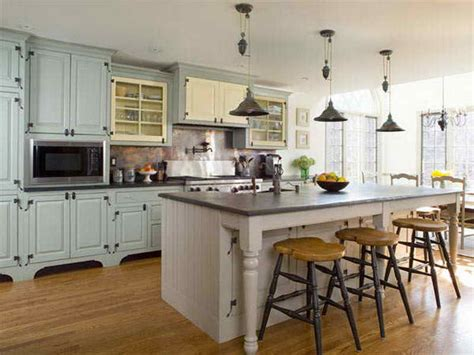 Kitchen  Country Living Kitchens Country Kitchen Islands