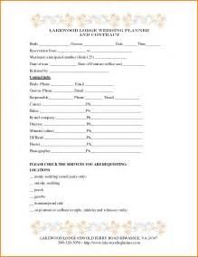 wedding calendar 4 wedding planner template expense report