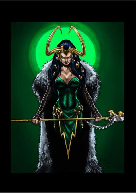 Lady Loki By Kiara On Deviantart
