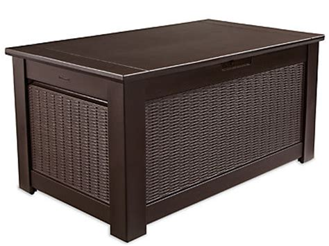 rubbermaid patio series storage bench patio series storage bench rubbermaid