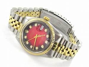 Rolex Uhr Herren Gold : rolex datejust herren uhr stahl gold diamanten ref 16013 ebay ~ Frokenaadalensverden.com Haus und Dekorationen