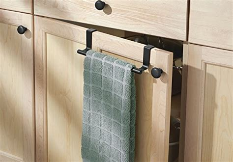 Mdesign Decorative Kitchen Over Cabinet Towel Bar