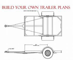 CAR / VAN TRAILER PLANS DIY BUILD PLANS