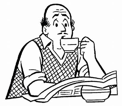 Coloring Drinking Coffee Archie Drink Comics Andrews