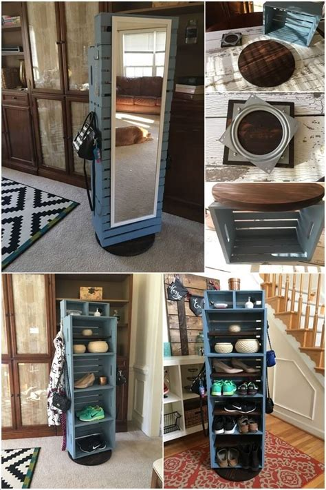 clever rotating storage ideas   save space