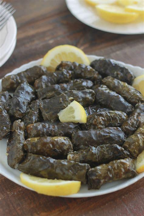 la cuisine libanaise feuilles de blettes farcies à la viande recette libanaise