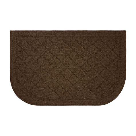 kitchen slice rugs creative home ideas chicken coop textured loop chocolate