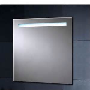 illuminated heated mirror with shaver socket 600mm uk bathrooms