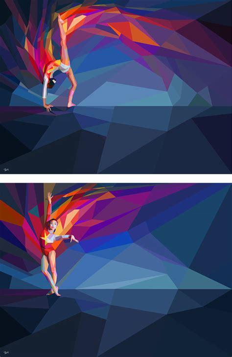 olympic games illustrations  charis tsevis
