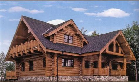 maison classique en kit bois massif