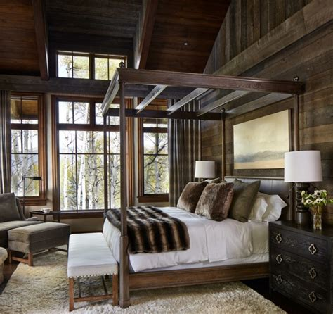 15 Restful Rustic Bedroom Interior Designs That Will Make