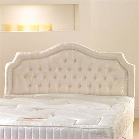 Upholstering A Headboard With Fabric by New Hf4you Chardonnay Fabric Upholstered Headboard 3ft6