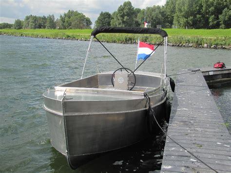 Boot Aluminium Steelfish by Steelfish Six Tender Aluminium Sloepsloepzoeken Nl