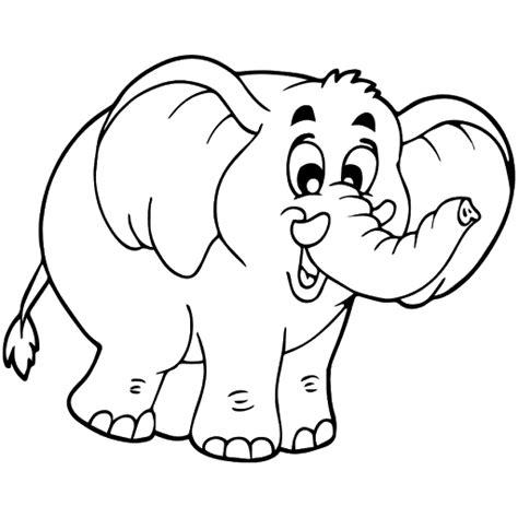 Coloring Gajah by Catatanku Anak Desa Mewarnai Gambar Kijang