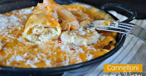 cuisine italienne cannelloni cannelloni aux jacques crevettes et parmesan