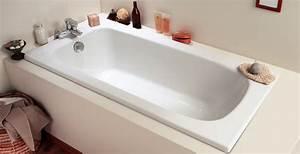 Repeindre Une Baignoire : baignoire droite pas cher ~ Premium-room.com Idées de Décoration