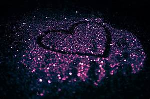 cute, glitter, heart, love, photography - image #426815 on ...