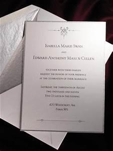 39twilight breaking dawn39 wedding invitation designer With wedding invitation designer com