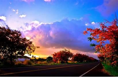 Usa Desktop Wallpapers Autumn Panoramio Strade Kauai