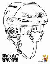 Hockey Coloring Pages Helmet Sheets Goalie Colouring Mask Nhl Players Ice Helmets Drawing Cool Equipment Printable Play Sports Sheet Bruins sketch template