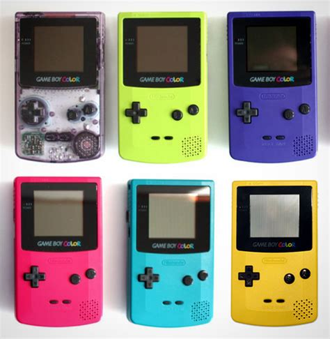 when did gameboy color come out boy color