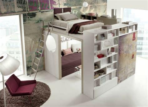Lit Mezzanine Bureau Adolescent by 60 Id 233 Es Pour Un Am 233 Nagement Petit Espace Archzine Fr