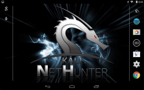 nethunter turns android device  hacker swiss army
