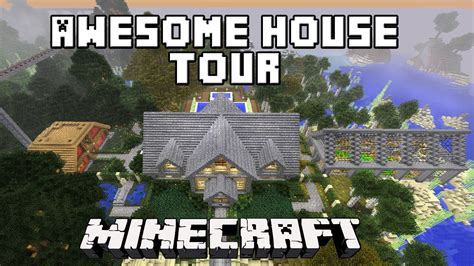 minecraft awesome survival house  scarlandhouse project part  youtube