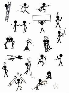Stick Figure Concepts By Jessehenley Traditional Art