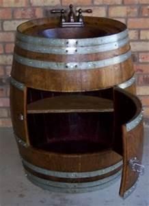 Whiskey Barrel Sink Cool Idea For Backyard Backyard