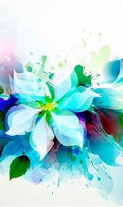 Abstract Flower #iPad #Air #Wallpaper | Flower art, Ipad ...