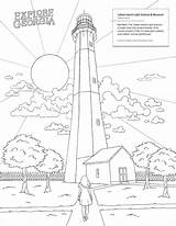 Tybee Wormsloe sketch template