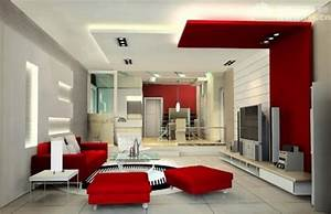 Modern design living room ideas decobizzcom for Modern living room red