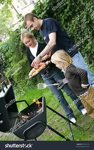 Family Bbq Stock Photo 3354176 - Shutterstock