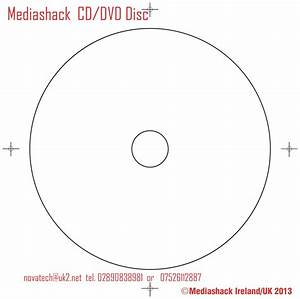 Disc template cd duplication ireland for Cd dimensions template