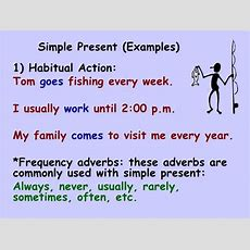 Simple Present And Present Continuous
