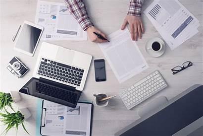 Working Business Desk Hard Entrepreneur Start