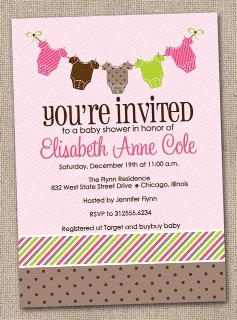 girl baby shower invitations baby shower invitation wording lifestyle9
