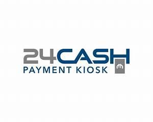 24 Cash Payment Kiosk logo design contest. Logo Designs by ...