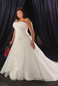 Wedding dresses for plus size women gtgt busy gown for Plus size wedding party dresses