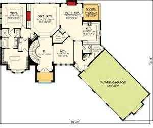 Basement Floor Plans For Ranch Style Homes by Ranch Home Plans Walkout Basement Cottage House Plans