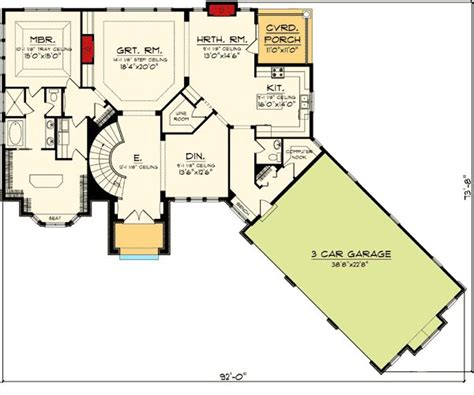 ranch floor plans with basement plan 89856ah ranch home plan with walkout basement