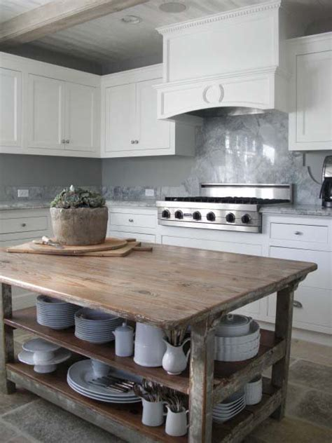 kitchen island antique 28 vintage wooden kitchen island designs digsdigs